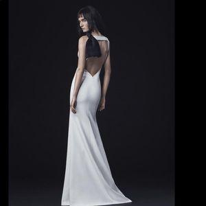 Vera wang micaela silk wedding gown
